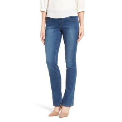 ジャグジーンズ レディース デニムパンツ ボトムス Peri Straight Jeans MED INDIGO
