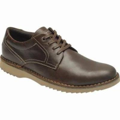 ロックポート 革靴・ビジネスシューズ Cabot Plain Toe Oxford Beeswax Leather