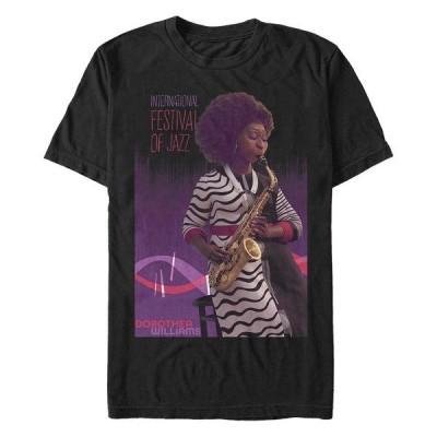フィフスサン Tシャツ トップス メンズ Men's Soul Dorothea on Sax Short Sleeve T-shirt Black