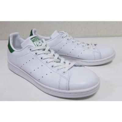 アディダス スタンスミス 白緑 US71/2 24.5cm レディース adidas STAN SMITH