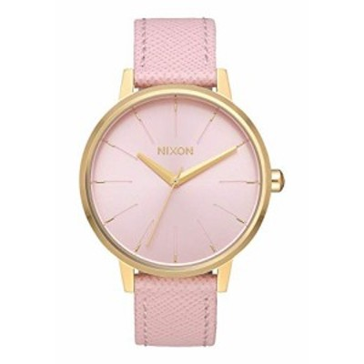 腕時計 ニクソン アメリカ NIXON Kensington Leather A108 - Light Gold/Pale Pink - 50m Water Resistant