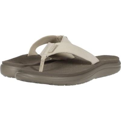 テバ Teva レディース ビーチサンダル シューズ・靴 Voya Flip Leather Birch