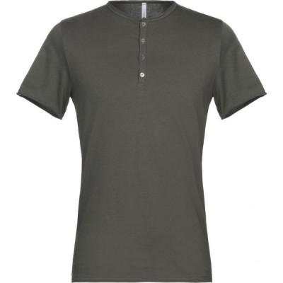 ベルウッド BELLWOOD メンズ Tシャツ トップス T-Shirt Dark green
