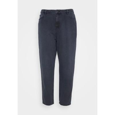 ヌー イン レディース デニムパンツ ボトムス HIGH RISE MOM - Relaxed fit jeans - dark grey dark grey