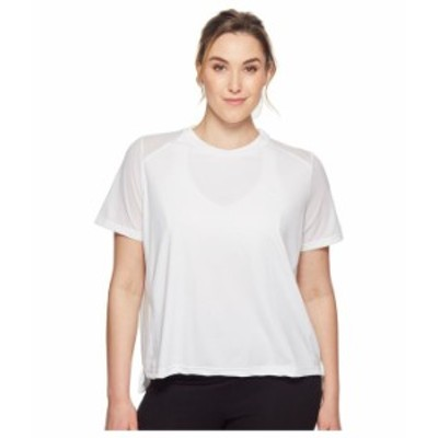 ナイキ レディース シャツ トップス Dry Miler Short-Sleeve Running Top (Sizes 1X-3X) White