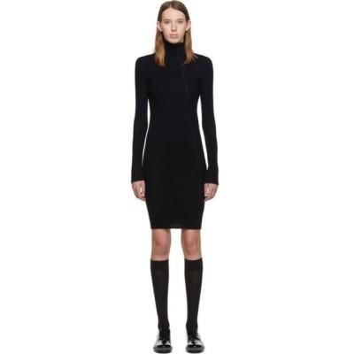 ヘルムート ラング Helmut Lang レディース ワンピース ワンピース・ドレス Navy Cotton Rib Knit Short Dress Ink