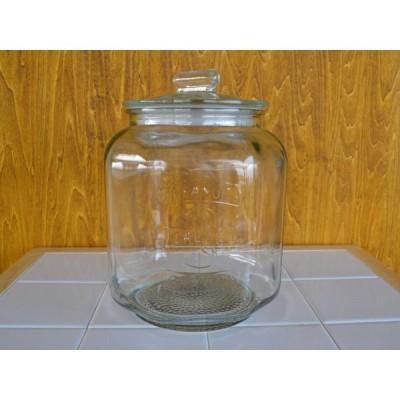 保存容器 アンティーク風ピーナッツジャーNo.3 ガラス瓶