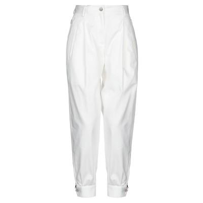 ドルチェ & ガッバーナ DOLCE & GABBANA パンツ ホワイト 36 コットン 99% / ポリウレタン 1% パンツ