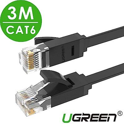 綠聯 CAT6網路線 GLAN FLAT版 3M
