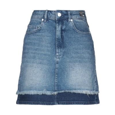 VERSACE JEANS デニムスカート ブルー 24 コットン 99% / ポリウレタン 1% デニムスカート
