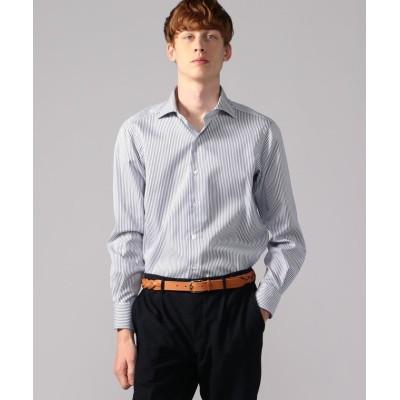 (TOMORROWLAND MENS/トゥモローランド メンズ)120/2コットンドビー ワイドカラー ドレスシャツ NEW WIDE-5/メンズ 65ブルー