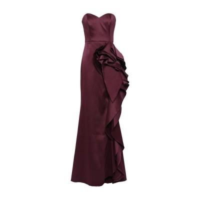 BADGLEY MISCHKA チューブドレス ファッション  レディースファッション  ドレス、ブライダル  パーティドレス ボルドー