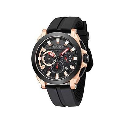 特別価格Ruimas Chronograph Watches Men Military Sport Quartz Watch Man Waterproof S好評販売中