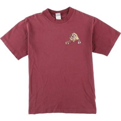 タズマニアンデビル キャラTシャツ USA レディースXL /eaa023612