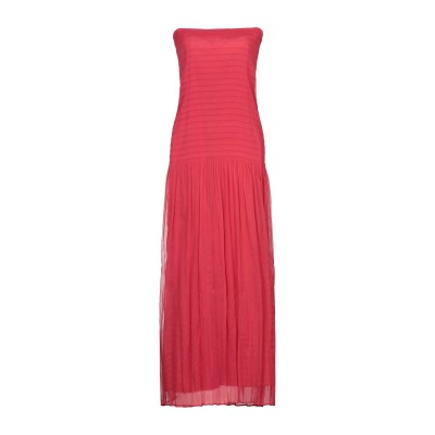 リビアナ コンティ LIVIANA CONTI ロングワンピース&ドレス レッド 42 ポリエステル 100% ロングワンピース&ドレス