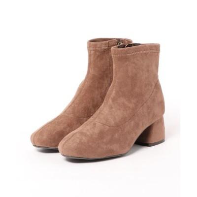 Xti Shoes / 【earth music&ecology Blue Label】 ストレッチショートブーツ WOMEN シューズ > ブーツ