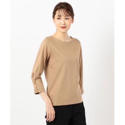 J.PRESS / 針抜きスムース カットソー WOMEN トップス > Tシャツ/カットソー