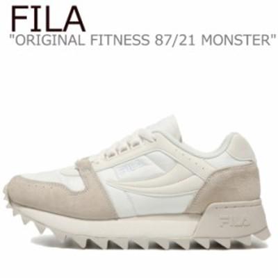 フィラ スニーカー FILA ORIGINAL FITNESS 87/21 MONSTER オリジナル フィットネス 87/21 モンスター BEIGE 1RM01580D_920 シューズ
