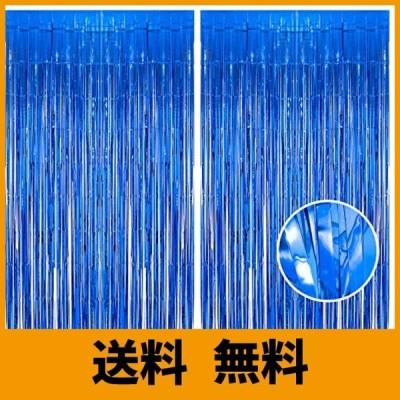 BRAVESHINE 【2枚セット】 キラキラ タッセルカーテン フリンジカーテン パーティー 飾り 1m*2.5m 誕生日 卒業 プロポーズ クリス