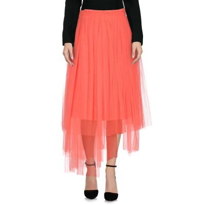 エムエスジーエム MSGM 7分丈スカート コーラル 38 100% ナイロン 7分丈スカート