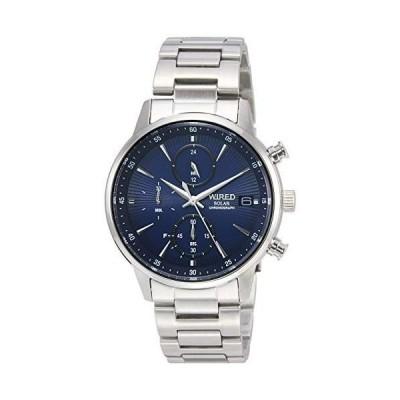 [セイコーウォッチ] 腕時計 ワイアード AGAD407 メンズ シルバー