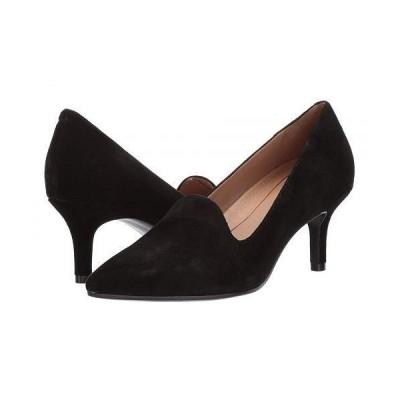 Aerosoles エアロソールズ レディース 女性用 シューズ 靴 ヒール Macrame - Black Suede