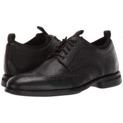 Cole Haan コールハーン メンズ 男性用 シューズ 靴 オックスフォード 紳士靴 通勤靴 Holland Grand Long Wing Black【送料無料】