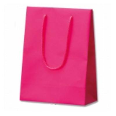 【10枚】マットPP貼リ HEIKO 紙袋 ブライトバッグ T-3 ラズベリーP 10枚入