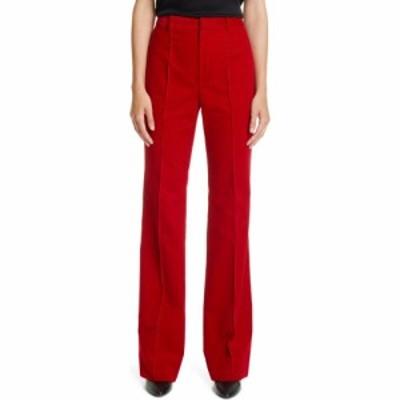 イヴ サンローラン SAINT LAURENT レディース ボトムス・パンツ ワイドパンツ Wide Leg Corduroy Pants Rouge