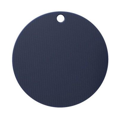 ヨシカワ シートまな板 ネイビー/ホワイト ミニ 栗原はるみ まな板 (丸) HK10793