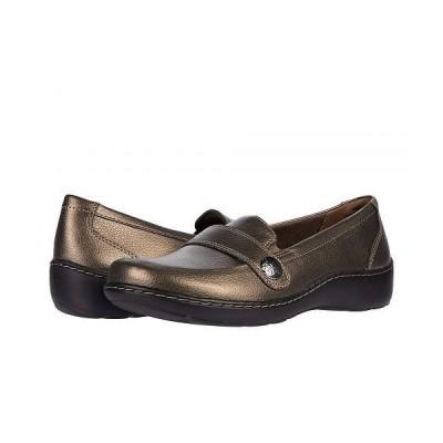 Clarks クラークス レディース 女性用 シューズ 靴 ローファー ボートシューズ Cora Daisy - Bronze Metallic