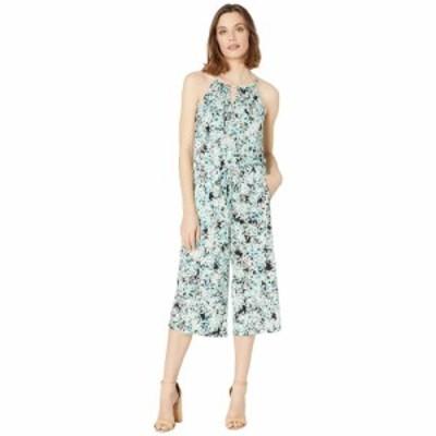 ロンドンタイムス London Times レディース オールインワン ジャンプスーツ クロップド ワンピース・ドレス Confetti Floral Crop Jumpsu
