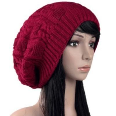 TeddyShop / レディース ふんわりシンプルニット帽 WOMEN 帽子 > ニットキャップ/ビーニー