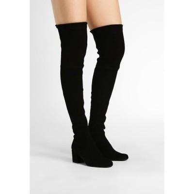 プリティ・バレリーナ ブーツ&レインブーツ レディース シューズ Over-the-knee boots - black