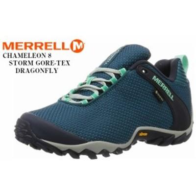 (メレル)MERRELL カメレオン8ストームゴアテックス CHAMELEON 8 STORM GORE-TEX レディス アウトドアトレッキングカジュアルシューズ