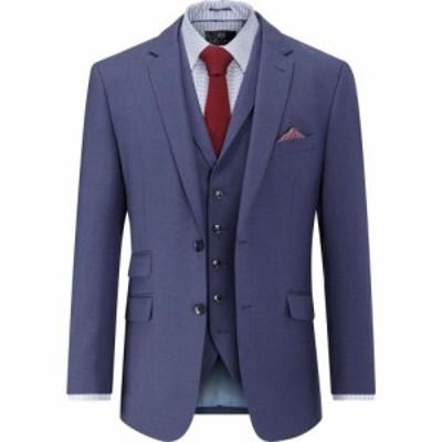 スコープス Skopes メンズ スーツ・ジャケット アウター Portman Wool Blend Jacket Blue