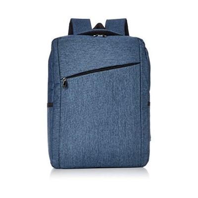 キンシュウ 海外買付Men'sガジェットバックパックバッグ PC専用ポケット付高いデザイン性と収納性 bag025 ブルー