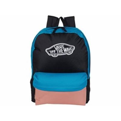 (取寄)バンズ レルム バックパック Vans Realm Backpack Enamel Blue/Black