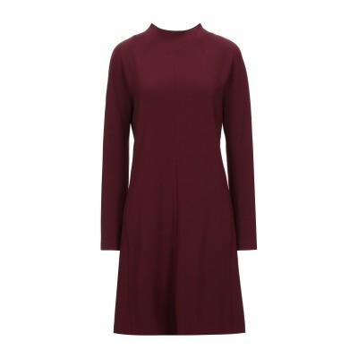 セオリー THEORY ミニワンピース&ドレス ボルドー 0 トリアセテート 70% / ポリエステル 30% ミニワンピース&ドレス