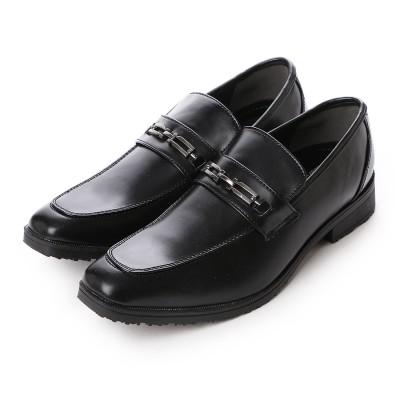 ウィルソン Wilson ビジネスシューズ メンズ 4cm防水、防滑 ビット 紳士靴(BLACK)