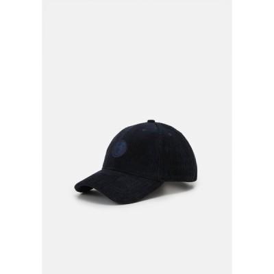 ノーレッジ コットン アパレル 帽子 メンズ アクセサリー WALES UNISEX - Cap - total eclipse
