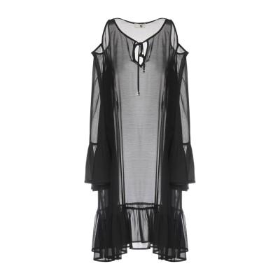 ツインセット シモーナ バルビエリ TWINSET ミニワンピース&ドレス ブラック S 100% ポリエーテル ミニワンピース&ドレス