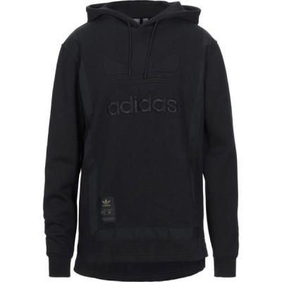 アディダス ADIDAS ORIGINALS メンズ スウェット・トレーナー トップス Hooded Sweatshirt Black