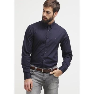 トミー ヒルフィガー シャツ メンズ トップス Shirt - midnight