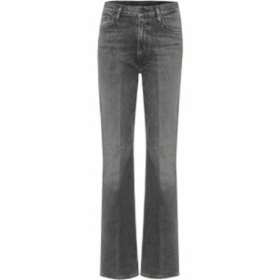 ゴールドサイン Goldsign レディース ジーンズ・デニム ブーツカット ボトムス・パンツ the comfort high-rise bootcut jeans Ash Black