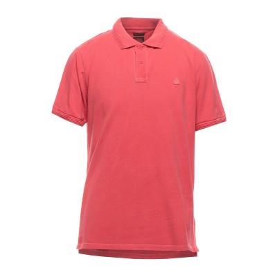サンデッキ SUNDEK ポロシャツ コーラル XL コットン 100% ポロシャツ