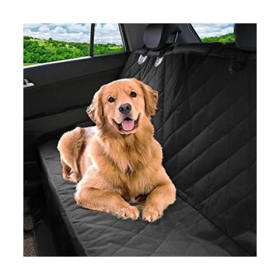 Pet Magasin ラグジュアリーなペット用カーシートカバー?防水加工&傷防止&滑り止め&ハンモック式&耐久性抜群 車トラックSUV等どの車種にも