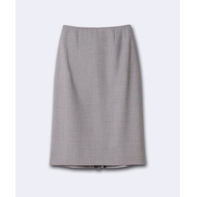 INED / イネド バックプリーツタイトスカート《Botto Giuseppe》