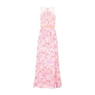 パトリティア ペペ セーラ PATRIZIA PEPE SERA ロングワンピース&ドレス ピンク 42 レーヨン 100% ロングワンピース&ドレス
