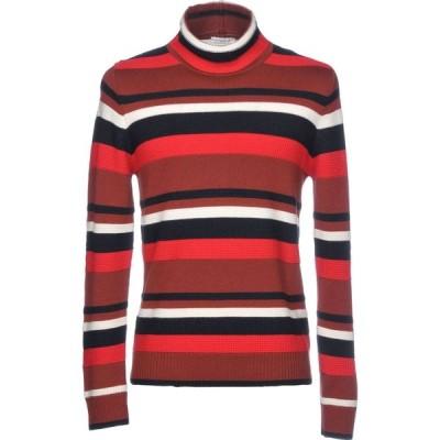 パオロ ペコラ PAOLO PECORA メンズ ニット・セーター トップス turtleneck Brick red
